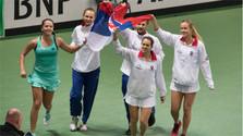 Сенсационная победа словацких теннисисток