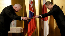 First Slovak with Japan's Order of Rising Sun