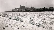 El río Danubio en invierno