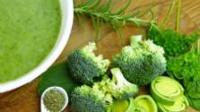 Brokolicový krém s parmezánom