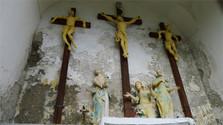 El vía crucis de Modrý Kameň