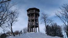 Winterausflug zum Aussichtsturm von Krahule