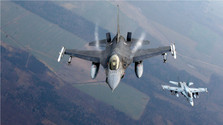 US arms producer presents F-16 Aircraft in Bratislava