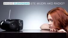 Rádio Sovensko. Ste múdri ako rádio?