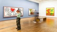 Keith Haring v Albertine