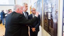 """Ausstellung """"Ersttagsstempel des Israelischen Staates"""""""