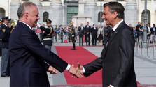 Визит президента А. Киски в Любляну