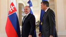Präsident Kiska weilte auf Slowenien-Besuch