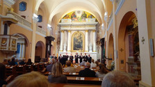 Koncert zborového spevu Modlitby a piesne