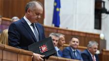 Last state of the republic address from president Kiska