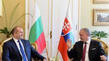 Bulharský prezident na Slovensku