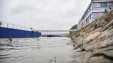 K veci: Horúčavy ovplyvnili aj hladinu Dunaja