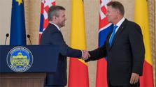 Premier Pellegrini besuchte Rumänien