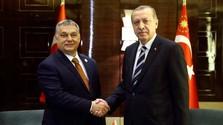 Budapesten járt Erdoğan