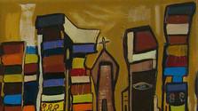 La pintura brasileña expuesta en la capital