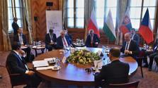 Rencontre des présidents du V4 à Štrbské Pleso