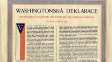 Se cumplen 100 años de la firma de la Declaración de Washington