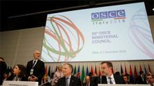 Eslovaquia hoy simbólicamente releva la presidencia de turno de la OSCE