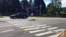 Neosvetlené priechody pre chodcov