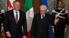 Президент А.Киска проводит переговоры в Риме