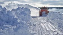 Wetterwarnung wegen starken Schneefalls
