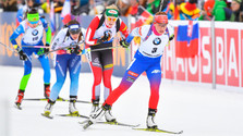 Fialková Dritte in Ruhpolding