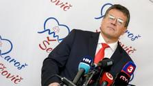Maros Sefcovic, candidat aux présidentielles