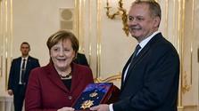 Hohe Auszeichnung der Slowakei für Angela Merkel
