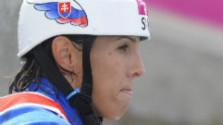 Vodná slalomárka Jana Dukátová