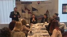 Stretnutie s krajanmi v Británii