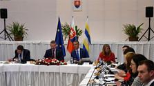 El Gobierno se reúne en la provincia de Trebišov