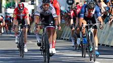Sagan: líder de la clasificación por puntos en el Tour de California