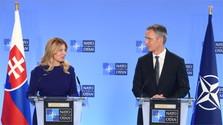 Bruxelles : La présidente slovaque rencontre le roi Philippe