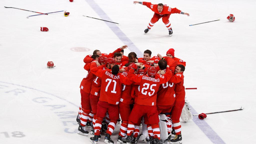 Rusko vyhralo olympijský hokejový turnaj