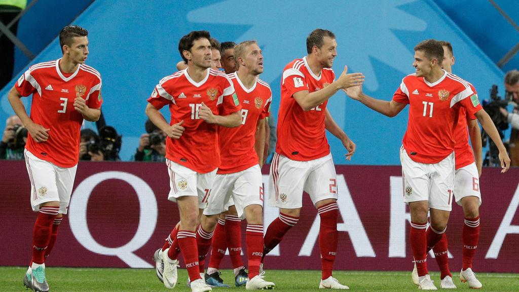 A-skupina: Rusko - Egypt 3:1