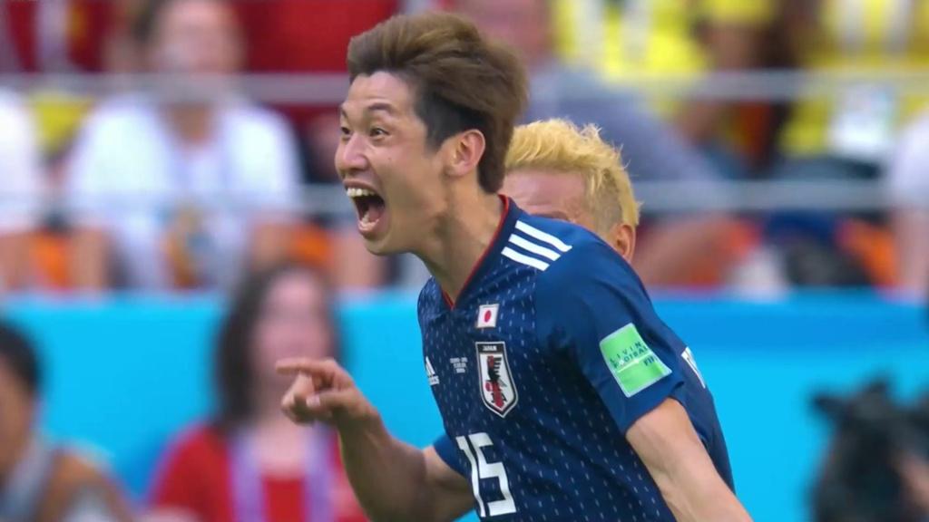 Japonsko zdolalo Kolumbiu 2:1
