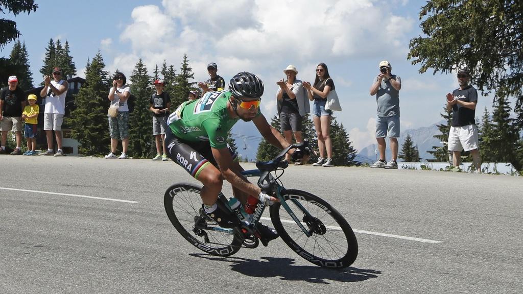 Sagan vyhral šprintérsku prémiu aj v 11. etape a šetril sily na dojazd
