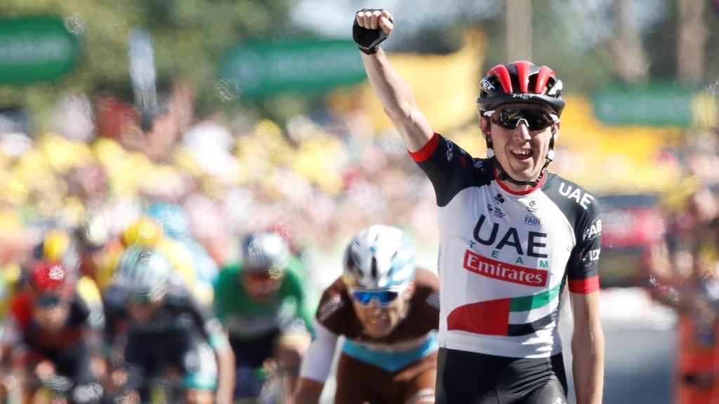 Daniel Martin vyhral 6. etapu, 8. Sagan si udržal zelený dres