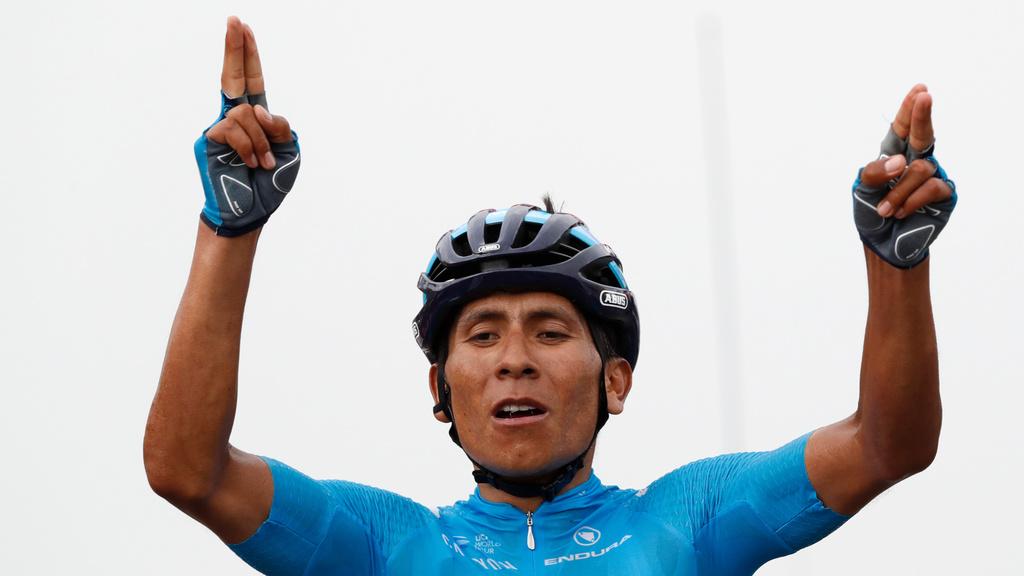 Quintana vyhral 17. etapu, Sagan je po páde v poriadku