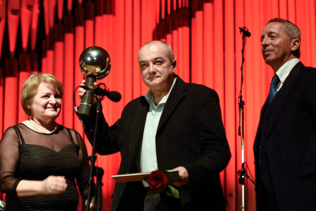 Prize Awarding Ceremony,M. Anghel, (Romania) - Grand Prix