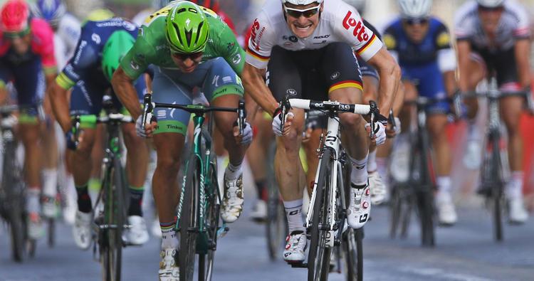 Sagan v poslednej etape druhý. Vyhral Greipel