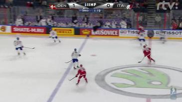 ZOSTRIH: Dánsko - Taliansko 2:0