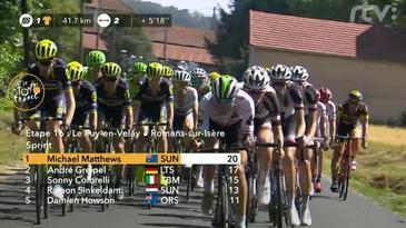 16 etapa: Le Puy en Velay - Romans sur Isére 165 km